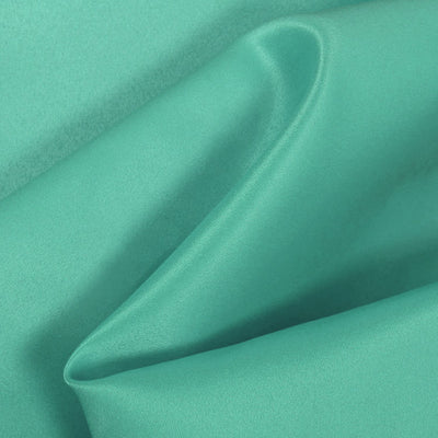 Jade Dull Matte Bridal Satin Fabric