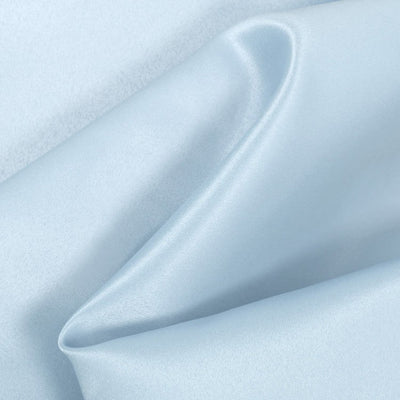 Baby Blue Dull Matte Bridal Satin Fabric