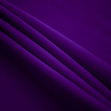 Purple Polyester Poplin Fabric