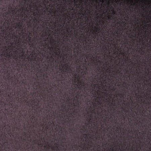 Plum Velboa Fur Solid Short Pile