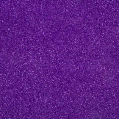 Purple Glitter Sparkle Metallic Faux Fake Leather Vinyl Fabric / 40 Yards Roll
