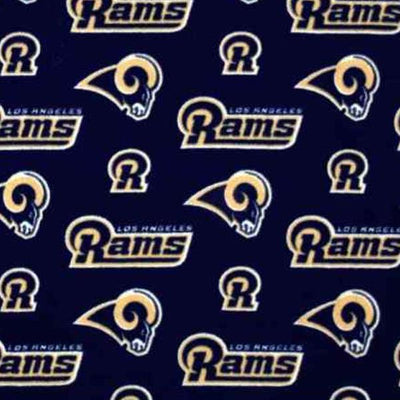 Los Angeles Rams Solid NFL Fleece Fabric