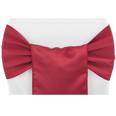 (12 Pack ) Red Satin Sash