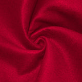 Red solid Acrylic Felt Fabric