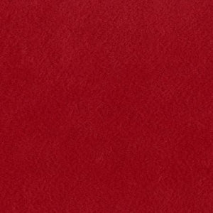 Red Solid Minky Fabric