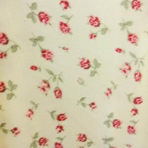 Roses All Over Anti Pill Premium Fleece Fabric