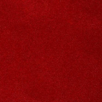 Red Glitter Sparkle Metallic Faux Fake Leather Vinyl Fabric / 40 Yards Roll