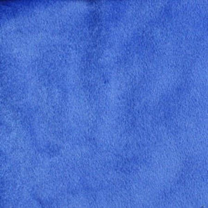 Royal Blue Velboa Fur Solid Short Pile