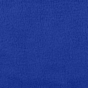 Royal Blue Anti Pill Solid  Fleece Fabric