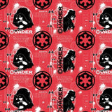 Ruby Star Wars Darth Vader 100% Cotton Fabric