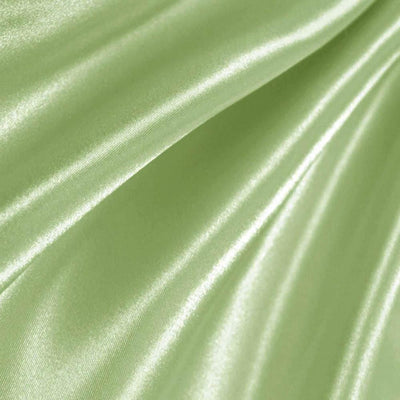 Sage Poly Satin Fabric / 50 Yards Roll