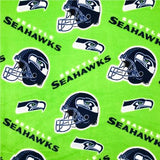 Seattle Seahawks Solid NFL Fleece Fabric