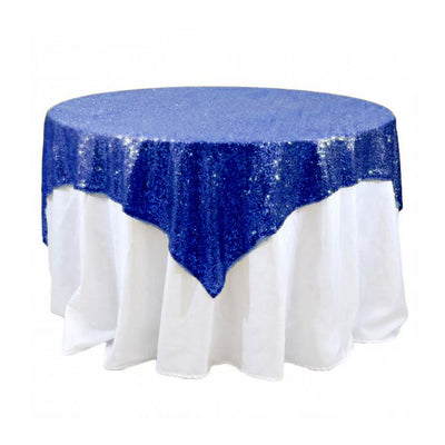 Royal Sequins Overlay Tablecloth 60