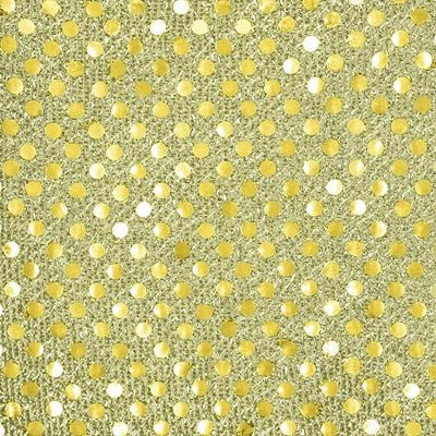 Gold Small Confetti Dots Sequin