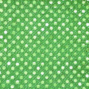 Kelly Green Small Confetti Dots Sequin