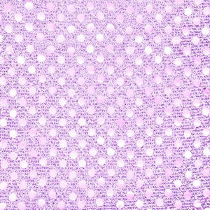 Lavender Blue Small Confetti Dots Sequin