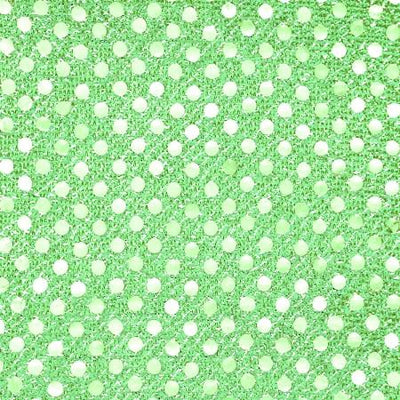 Lime Small Confetti Dots Sequin