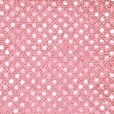 Pink Small Confetti Dots Sequin