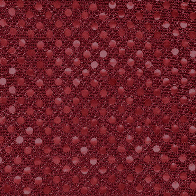 Burgundy Small Confetti Dots Sequin