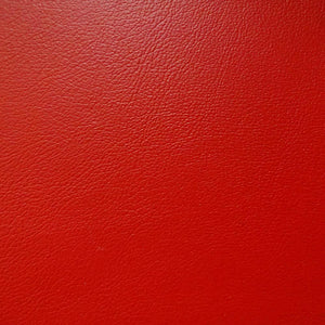 Red 1.0 mm Thickness Soft PVC Faux Leather Vinyl Fabric