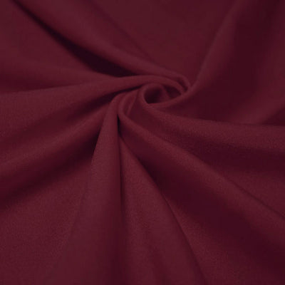 Burgundy Shiny Nylon Spandex