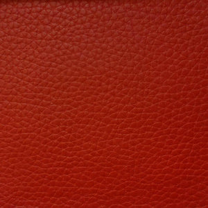 Red 1.2 mm Thickness Textured PVC Faux Leather Vinyl Fabric