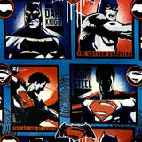 The Dark Knight Colored Comic 100% Cotton Print Fabric