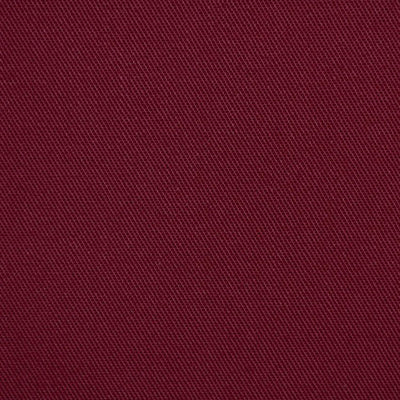 Burgundy Twill Fabric