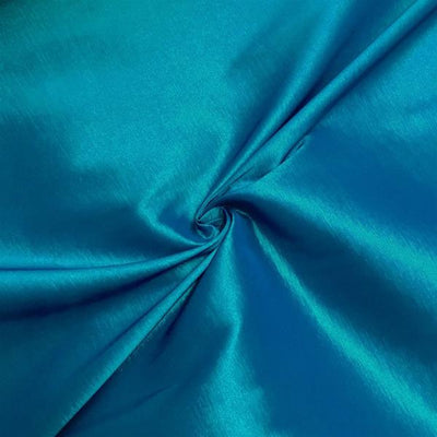Teal Stretch Taffeta Fabric