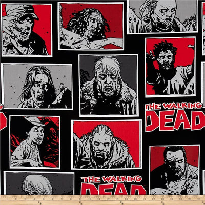 The Walking Dead 100% Cotton Fabric
