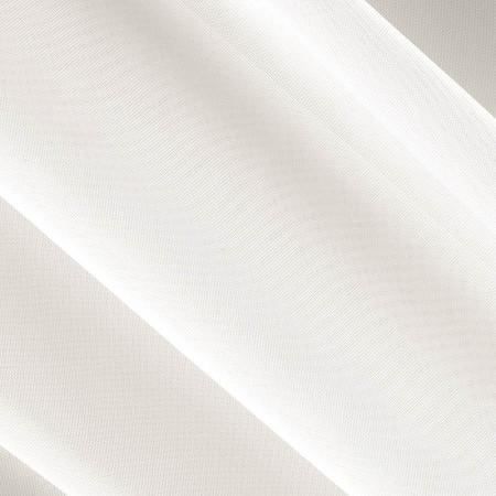 "Ivory Sheer Voile Fabric 118"" Wide"