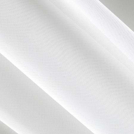 "White Sheer Voile Fabric 118"" Wide"