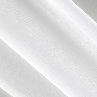 White Sheer Voile Fabric 118