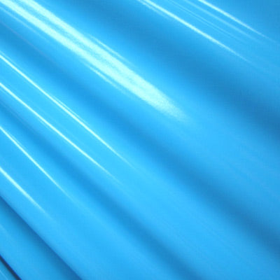 Turquoise 4-Way Glossy Stretch Vinyl Fabric