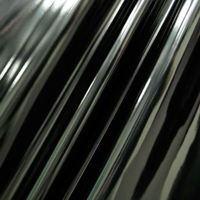 Black 4-Way Glossy Stretch Vinyl Fabric