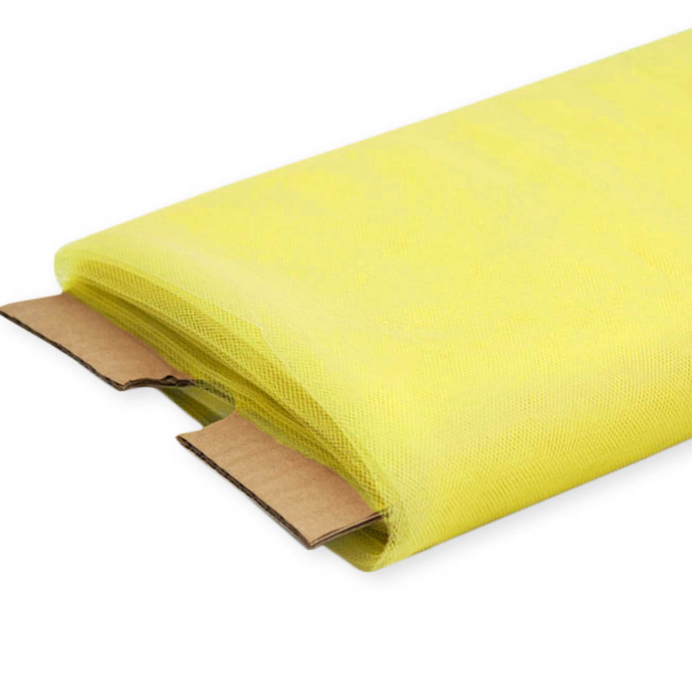 Yellow Nylon Tulle Fabric - 40 Yards By Roll
