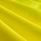 "60"" Yellow Broadcloth Fabric"