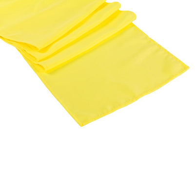 Yellow Polyester Table Runner