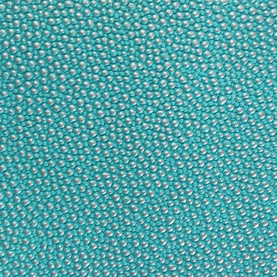 Tiffany Green Silver Grain Reptile Embossed Vinyl Fabric / 40 Yards Roll