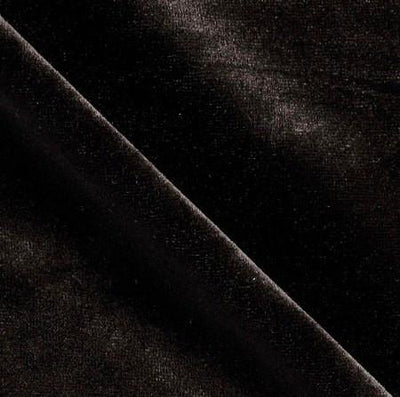 Black Velvet Stretch Fabric