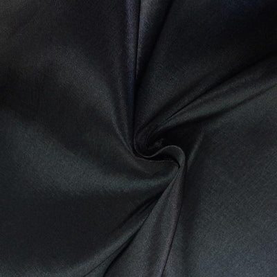Black Stretch Taffeta Fabric