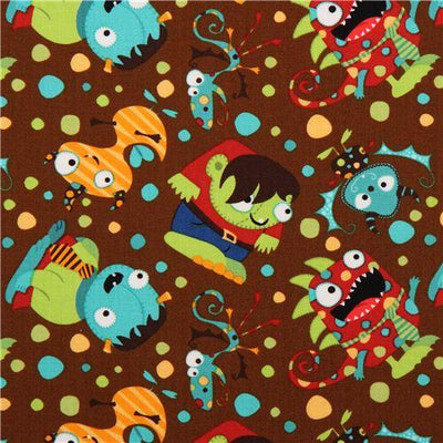 Monster Mash Party 100% Cotton Fabric