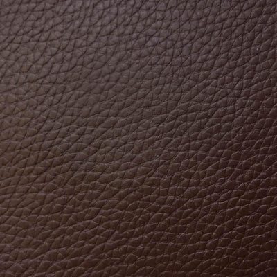 Brown 1.2 mm Thickness Textured PVC Faux Leather Vinyl Fabric