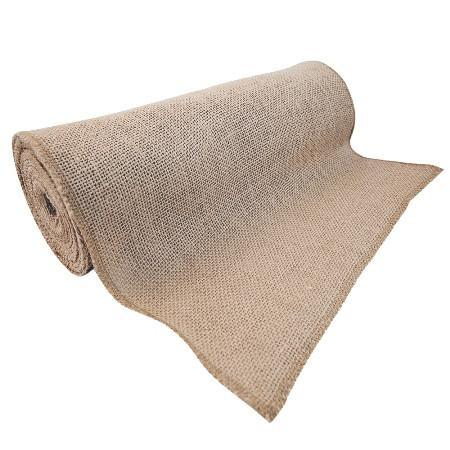 "60"" Inches Jute Natural Burlap Fabric / 100 Yards Roll"