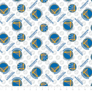 Golden State Warriors NBA 100% Cotton Fabric