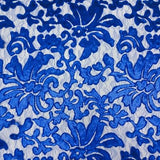 Royal Blue Beyonce Lace Fabric - Evening Gown Lace