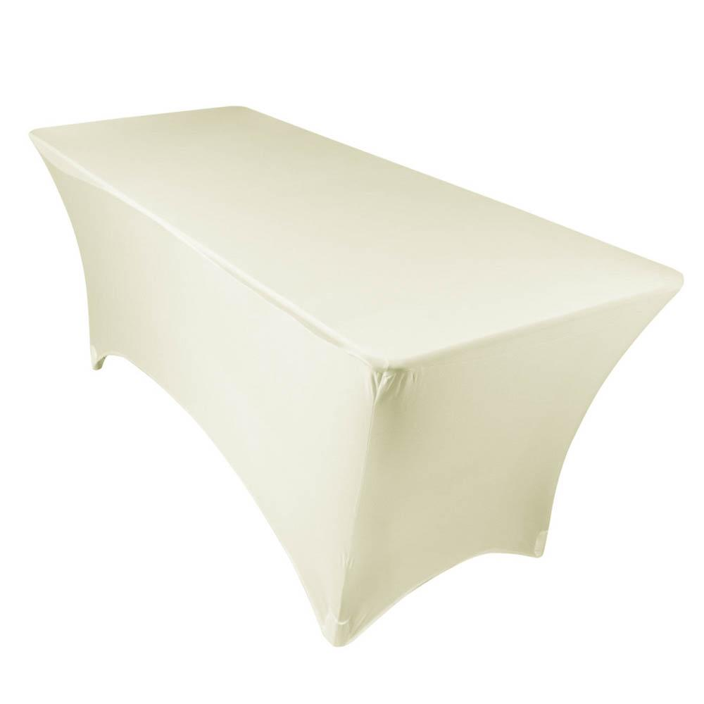 Ivory Spandex Tablecloth