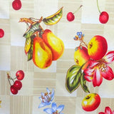 Fruits on the Blocks Poly Cotton Fabric