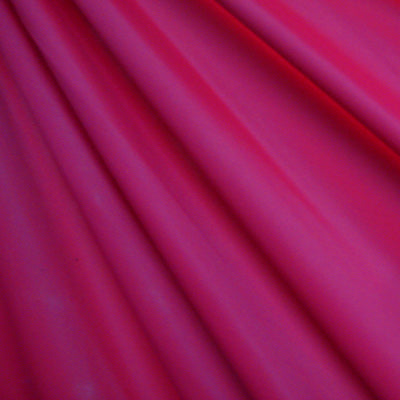 Fuchsia Orange Shiny Nylon Spandex