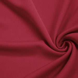 Fuchsia Solid Stretch Scuba Double Knit Fabric